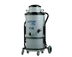 Priemyselné vysávače jednofázové, mokré-suché vysávanie, napájanie 230V