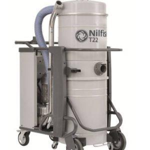 Nilfisk T22 L50 5PP háromfázisú száraz-nedves porszívó 4030500084 takaritogeparuhaz.hu 1
